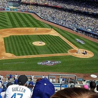 Dodger Stadium, Abschnitt: 19RS, Reihe: G, Platz: 2