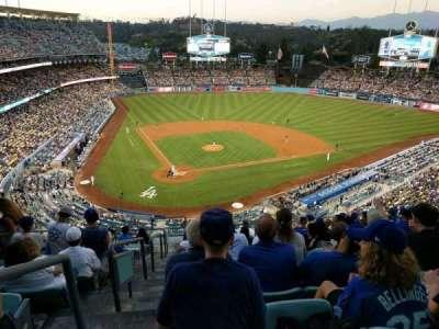 Dodger Stadium, Abschnitt: 6RS, Reihe: M, Platz: 1
