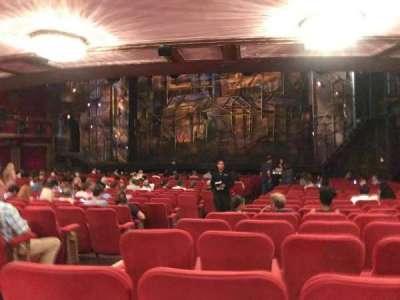 Broadway Theatre - 53rd Street, Abschnitt: Right Orchestra, Reihe: V, Platz: 3