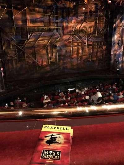 Broadway Theatre - 53rd Street, Abschnitt: Mezzanine, Reihe: A, Platz: 102