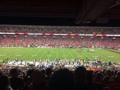 FedEx Field, Abschnitt: 221, Reihe: 13, Platz: 16