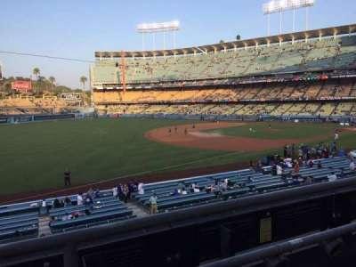 Dodger Stadium, Abschnitt: 151LG, Reihe: B, Platz: 7