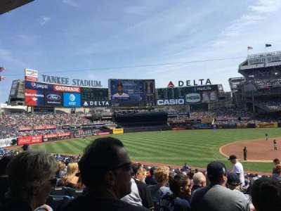 Yankee Stadium, Abschnitt: 126, Reihe: 16, Platz: 3