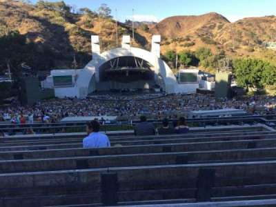 Hollywood Bowl, Abschnitt: N-1, Reihe: 9, Platz: 22