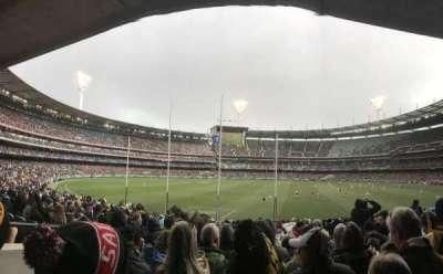 Melbourne Cricket Ground, Abschnitt: M2, Reihe: CC, Platz: 14