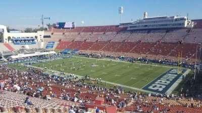 Los Angeles Memorial Coliseum, Abschnitt: 19H, Reihe: 69, Platz: 110