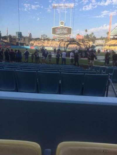 Dodger Stadium, Abschnitt: 5FD, Reihe: B, Platz: 8