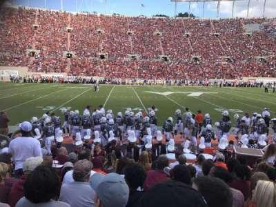 Lane Stadium, Abschnitt: 10, Reihe: J, Platz: 21