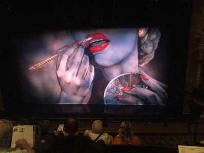 Nederlander Theatre, Abschnitt: MEZZ, Reihe: E, Platz: 111