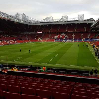 Old Trafford, Abschnitt: W208, Reihe: 12, Platz: 125
