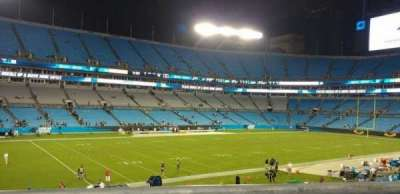 Bank of America Stadium, Abschnitt: 349, Reihe: 1, Platz: 3