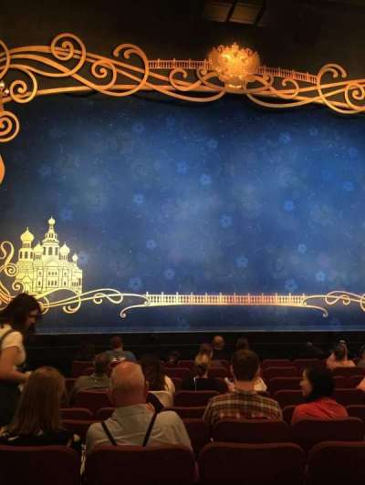 Broadhurst Theatre, Abschnitt: Center Orchestra, Reihe: K, Platz: 101