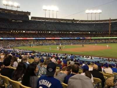 Dodger Stadium, Abschnitt: 36FD, Reihe: P, Platz: 1