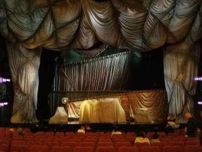 Majestic Theatre, Abschnitt: Orchestra, Reihe: J, Platz: 109