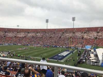 Los Angeles Memorial Coliseum, Abschnitt: 3L, Reihe: 44, Platz: 7