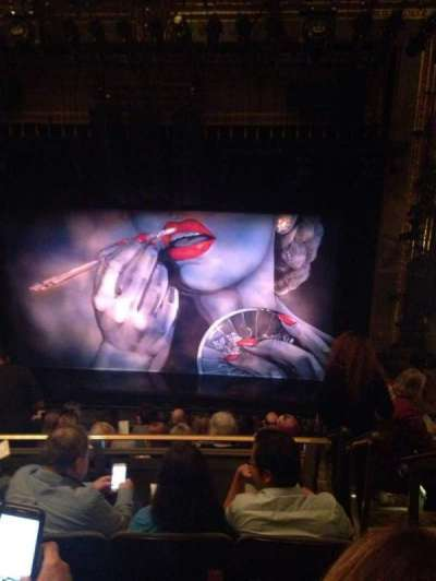 Nederlander Theatre, Abschnitt: Mezz, Reihe: K, Platz: 101