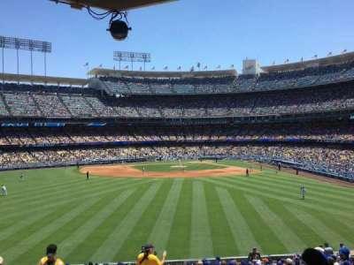 Dodger Stadium, Abschnitt: 305PL, Reihe: Z, Platz: 1