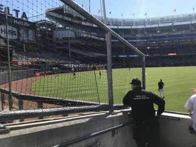 Yankee Stadium, Abschnitt: 136, Reihe: 5, Platz: 24
