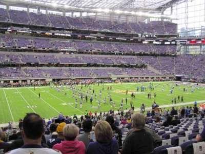 U.S. Bank Stadium, Abschnitt: 112, Reihe: 29, Platz: 21