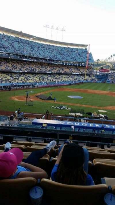 Dodger Stadium, Abschnitt: 123LG, Reihe: F, Platz: 4