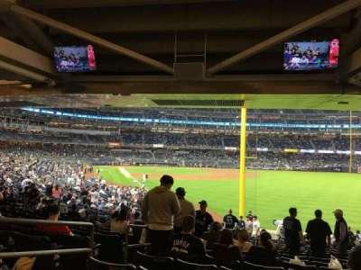Yankee Stadium, Abschnitt: 108, Reihe: 19, Platz: 18