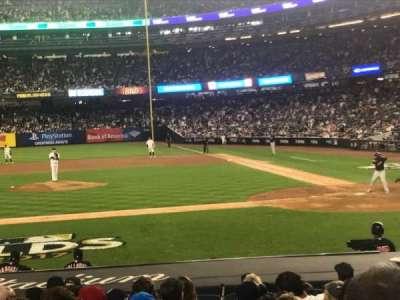 Yankee Stadium, Abschnitt: 123, Reihe: 3, Platz: 5