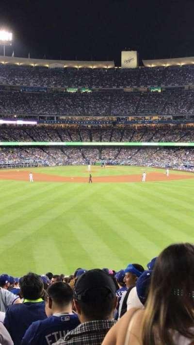 Dodger Stadium, Abschnitt: 302PL, Reihe: K, Platz: 5