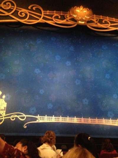 Broadhurst Theatre, Abschnitt: Center Orch, Reihe: F, Platz: 103