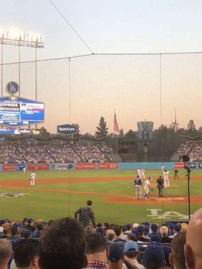 Dodger Stadium, Abschnitt: 5FD, Reihe: J, Platz: 2