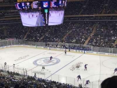 Madison Square Garden, Abschnitt: 227, Reihe: 10, Platz: 3