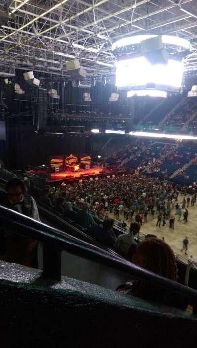 Greensboro Coliseum, Abschnitt: 214, Reihe: F, Platz: 11