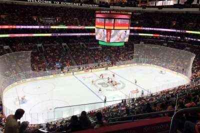 Wells Fargo Center Abschnitt 210A