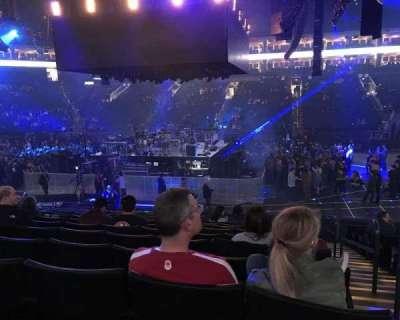 Oracle Arena, Abschnitt: 128, Reihe: 13, Platz: 1