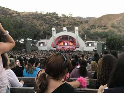 Hollywood Bowl, Abschnitt: M2, Reihe: 20, Platz: 117