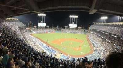 Dodger Stadium, Abschnitt: 7RS, Reihe: U, Platz: 1