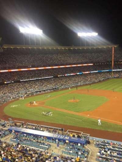 Dodger Stadium, Abschnitt: Infield Reserve VIP 28, Reihe: A, Platz: 2
