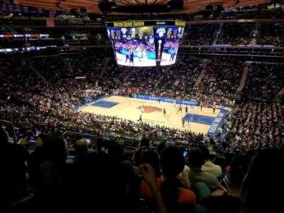Madison Square Garden, Abschnitt: 226, Reihe: 8, Platz: 3
