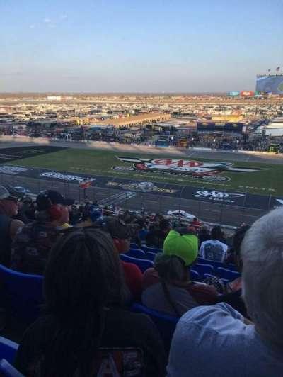 Texas Motor Speedway, Abschnitt: PU103, Reihe: 47, Platz: 16