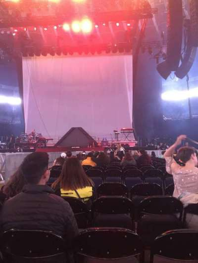 Oracle Arena, Abschnitt: C, Reihe: 17, Platz: 5
