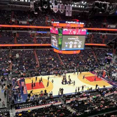 Capital One Arena, Abschnitt: 415, Reihe: A, Platz: 12