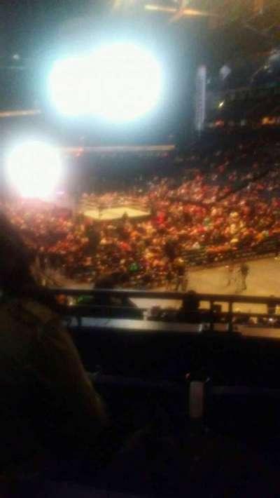 Bridgestone Arena, Abschnitt: 119, Reihe: k, Platz: 12