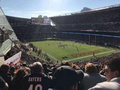 Soldier Field, Abschnitt: 356, Reihe: 6, Platz: 7