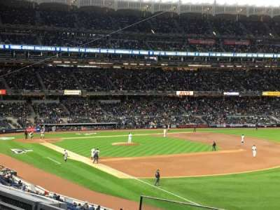 Yankee Stadium, Abschnitt: 210, Reihe: 4, Platz: 2