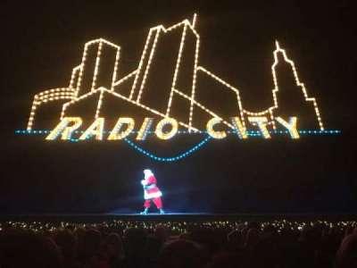 Radio City Music Hall, Abschnitt: Orchestra 4, Reihe: SS, Platz: 406