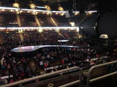 Quicken Loans Arena, Abschnitt: C108, Reihe: 18, Platz: 11