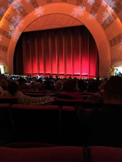 Radio City Music Hall, Abschnitt: Orchestra 2, Reihe: K, Platz: 206