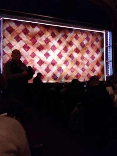 Brooks Atkinson Theatre, Abschnitt: Orch, Reihe: L, Platz: 1