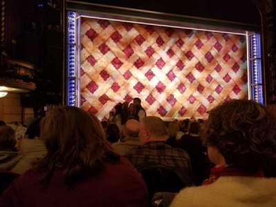 Brooks Atkinson Theatre, Abschnitt: Orch, Reihe: L, Platz: 3