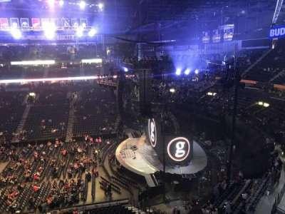 Bridgestone Arena, Abschnitt: 311, Reihe: A, Platz: 8