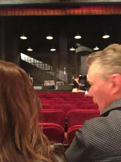 Walter Kerr Theatre, Abschnitt: Orchestra, Reihe: L, Platz: 113